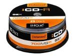 Intenso - CD-R x 25 - 700 MB - soportes de