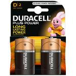 Duracell Plus Power Pila Alcalina D LR20